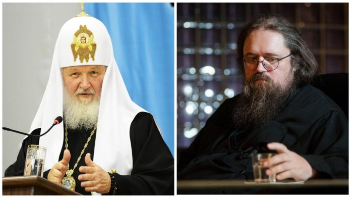 Патриарх Кирилл и Андрей Кураев