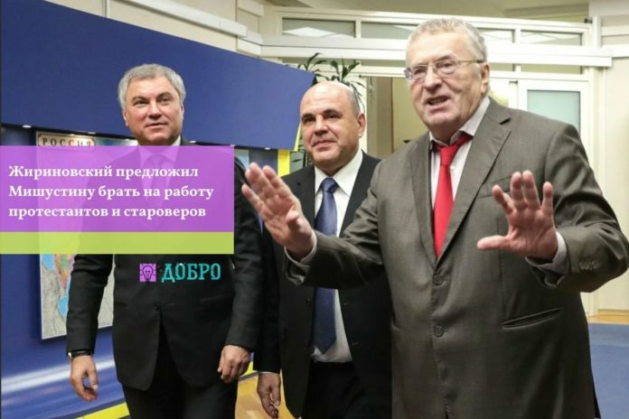 Жириновский и Мишустин