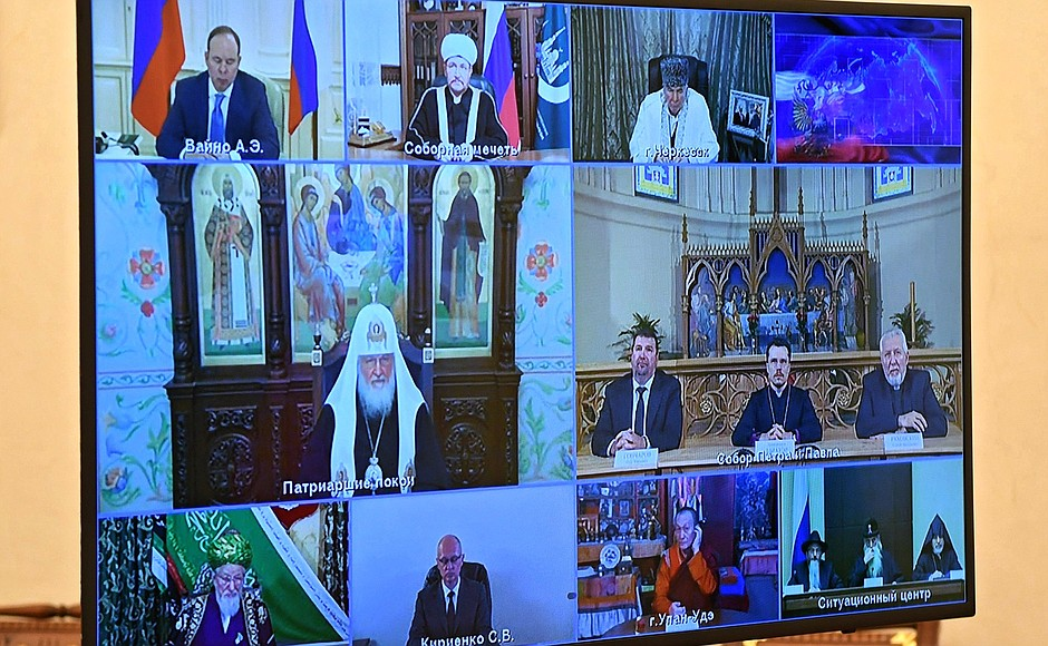 Епископ Сергей Ряховский пригласил Владимира Путина на Национальную молитвенную трапезу